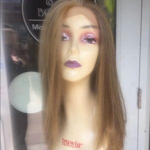 Free wig cap blonde human hair Blende Lacefront